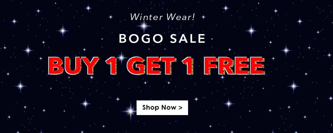Buy 1 Get 1 Free On Winter Wear BOGO Sale — Yepme — Rs. 1199.0 — Fashion & Apparels