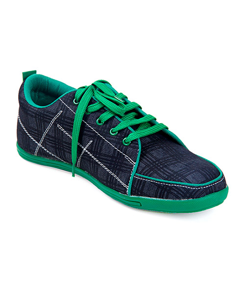 Yepme Blue Check Canvas Shoes