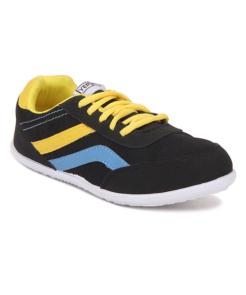 Yepme Casual Shoes - Black & Yellow