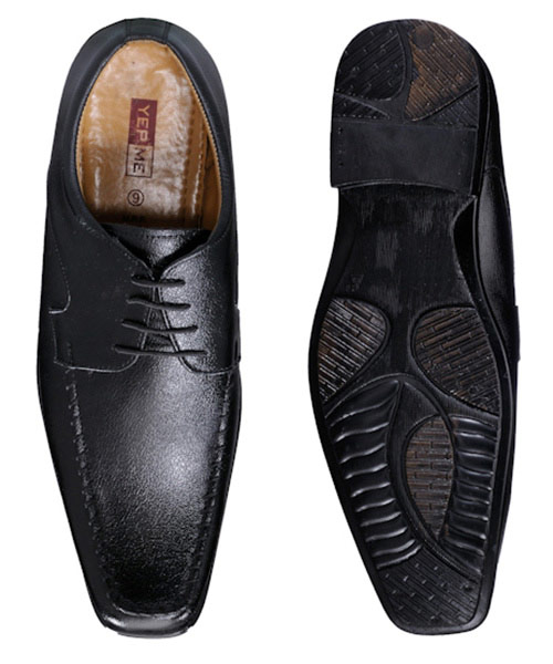 Yepme Black Formal Shoes