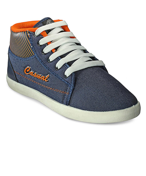 Yepme Casual Shoes - Blue & Orange
