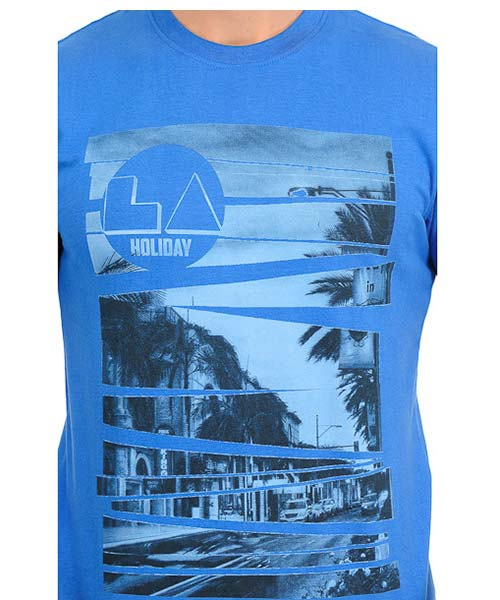 Yepme LA Holiday Blue Tee