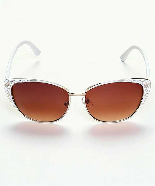 53bd44d5c1 Yepme Cat-Eye Sunglasses - Silver   Brown Online Shopping