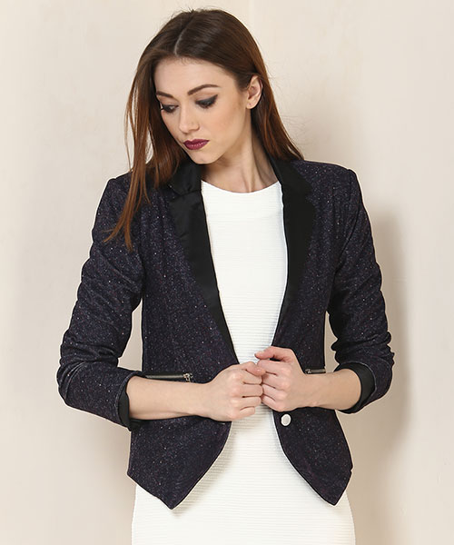 7ac6909fae96bb Yepme Sterry Party Blazer - Wine