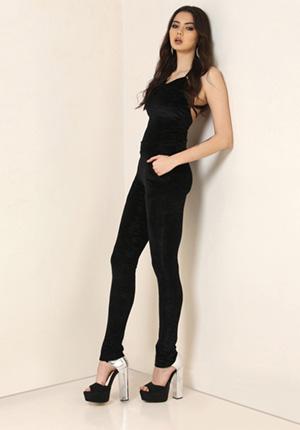 Yepme Oriana Party Jumpsuit - Black
