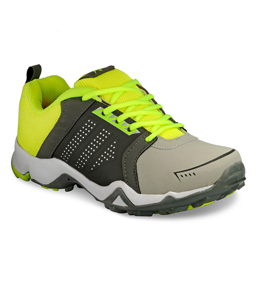 Yepme Premium Sports Shoes  - Grey & Green