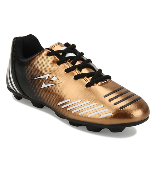 Yepme Hector Football Shoes - Black & Golden