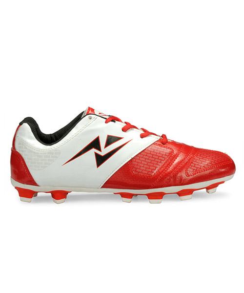 Velma Football Shoes - Red \u0026 White
