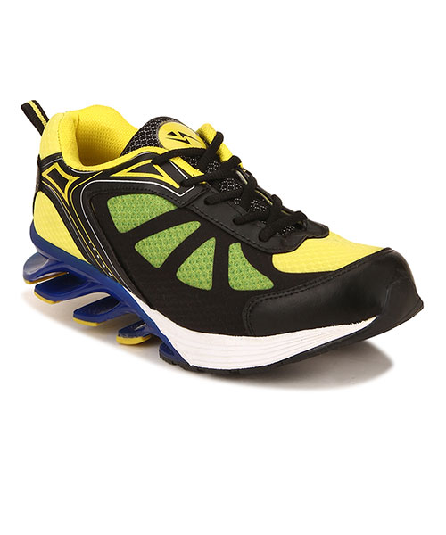 Yepme Blade Sports Shoes - Blue & Yellow