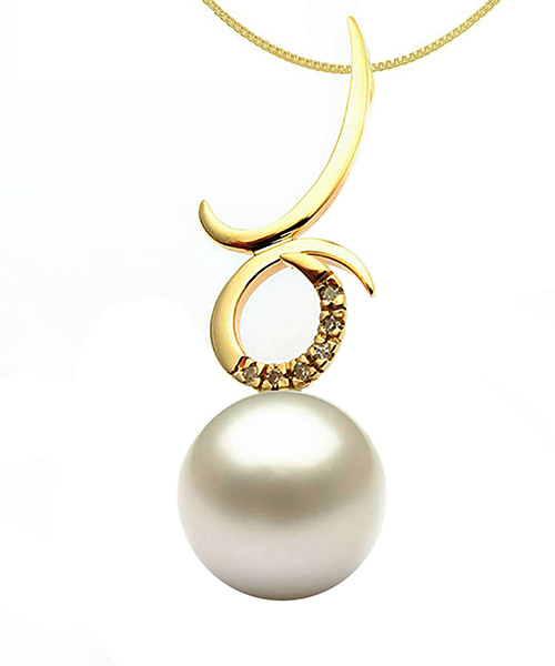 Voylla Sterling Silver Gold Plated Pendant
