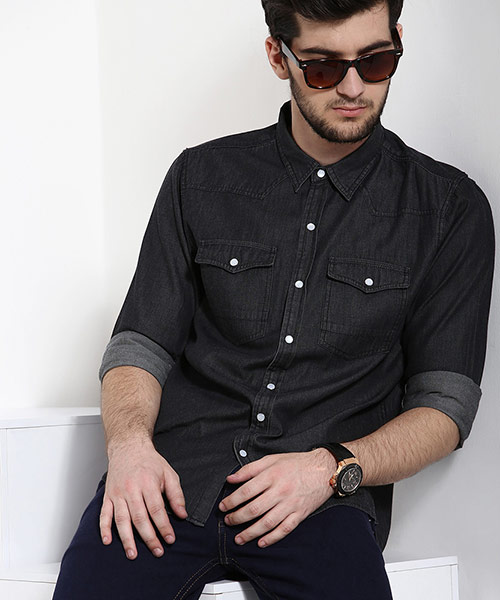 Denim Shirts - Buy Denim Shirts for Men Online in India at Yepme