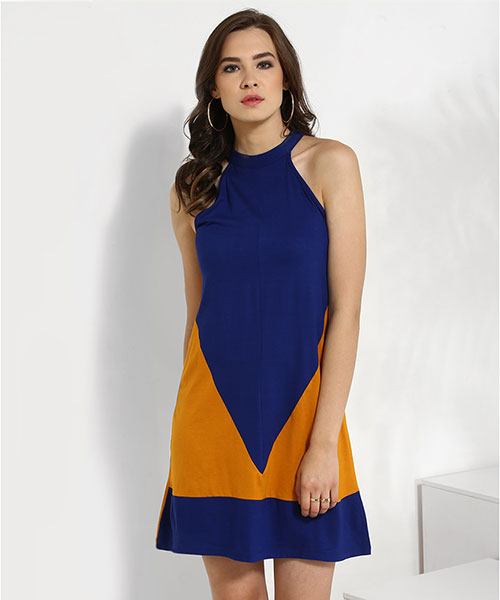 Yepme Cathy Shift Dress - Blue