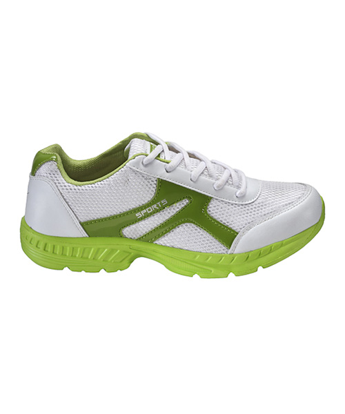 Yepme Flash Forward Sports Shoes- White & Fluorescent Green
