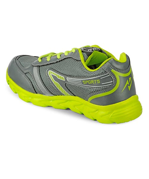 sports shoes grey green shopping 148325