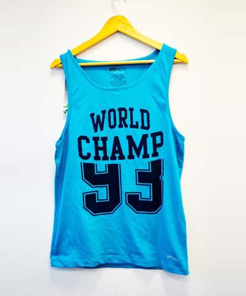 Yepme Lars High Performance Muscle Vest - Blue