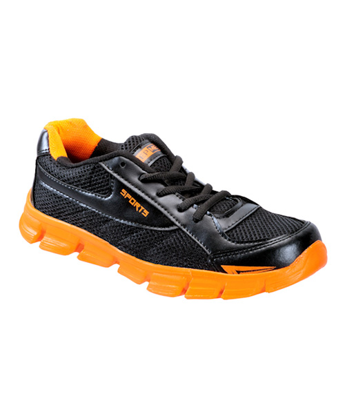 Smash Sports Shoes- Orange \u0026 Black