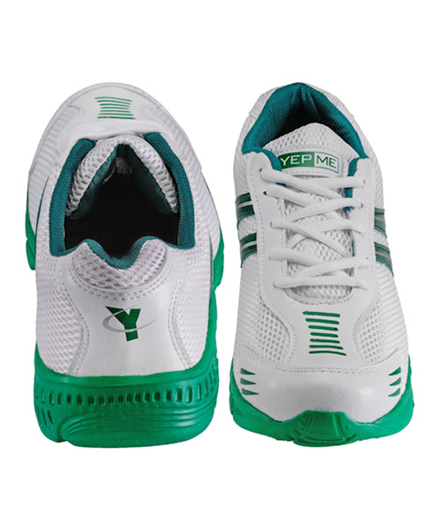 Yepme Cosmos Sports Shoes- White & Green