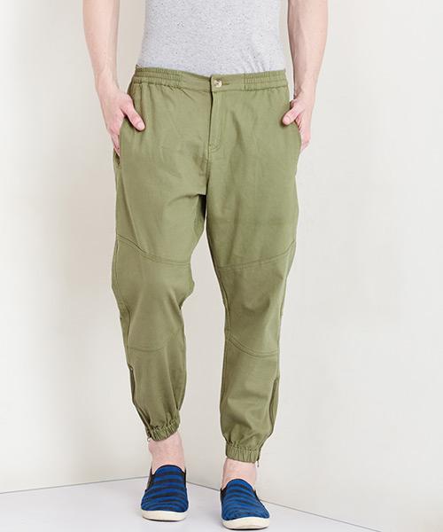 Yepme Tucker Colored Joggers - Green