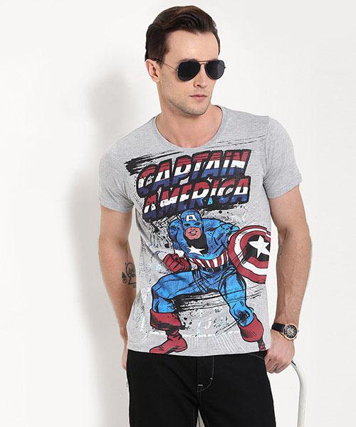 MARVEL - Captain America Print Tee