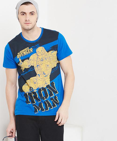 MARVEL - Iron Man Teardown Print Tee