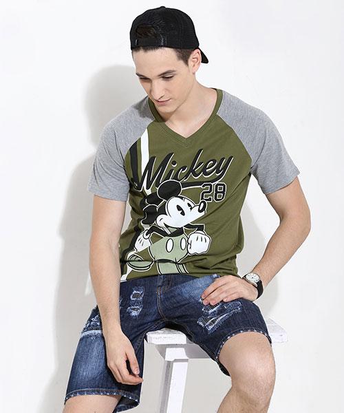 DISNEY- Mickey 28 Print Tee