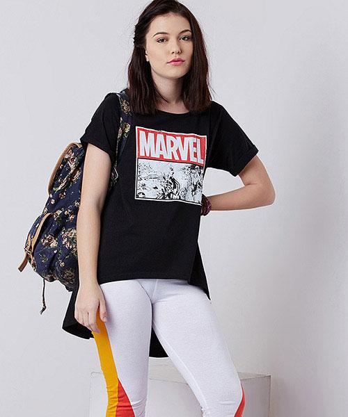 Marvel- Marvel Logo Women's Top