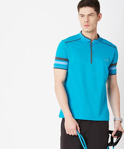 Yepme Brendon High Performance Polo Tee - Blue