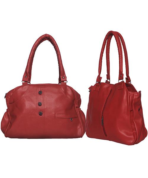 Arc HnH Women Handbag Combo Contemporary Red & Elegant Red