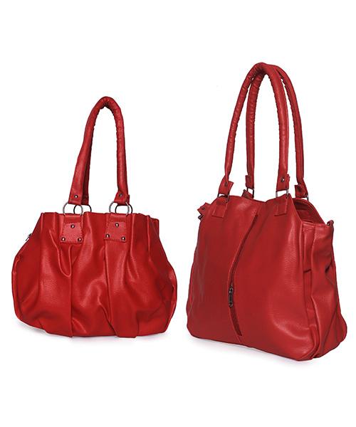Arc HnH Women Handbag Combo Contemporary & Pretty - Red