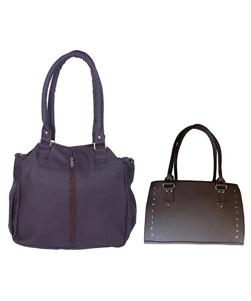 Arc HnH Women Handbag Combo Contemporary & Sporty - Brown