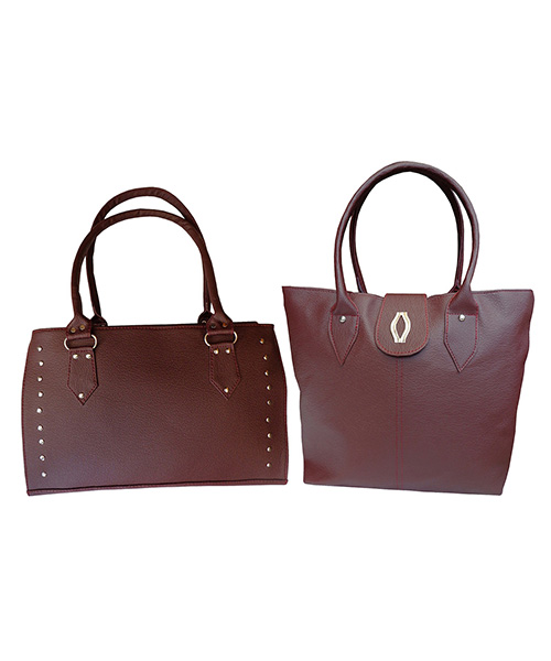 Arc HnH Women Handbag Combo Diva & Sporty - Maroon