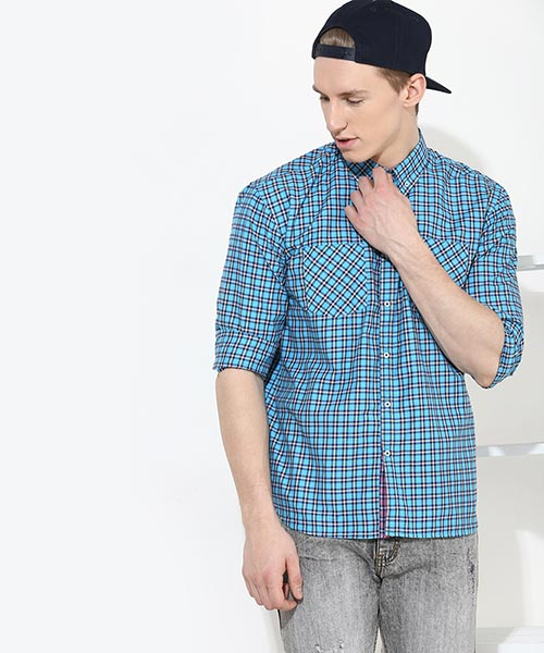 89b6a50c872 Check Shirts - Buy Check Shirts for Men Online in India at Yepme