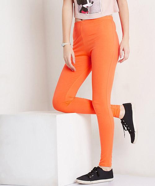 Yepme Tracey Essential Leggings - Orange