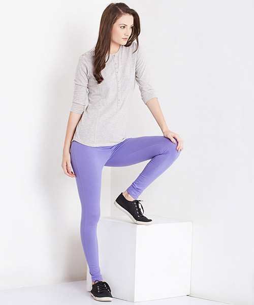 Yepme Tracey Essential Leggings - Purple