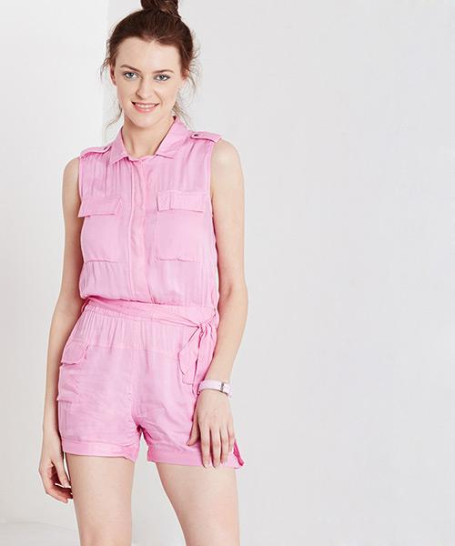 Yepme Ferling Playsuit - Pink