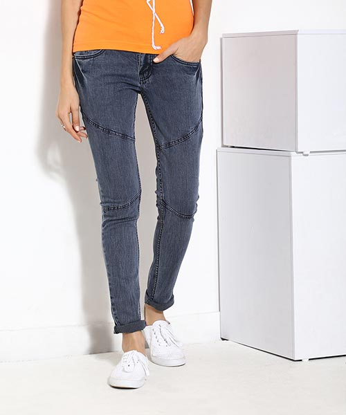 Yepme Jezebel Medium Wash Denim - Blue