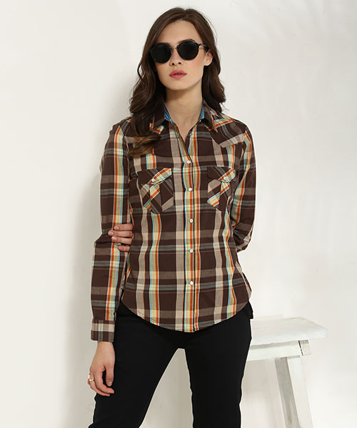 c6d296f1 Shirts for Women - Buy Online Women Shirts in India at Yepme