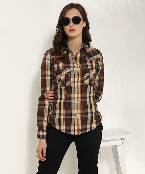Shirts for Women - Buy Online Women Shirts in India at Yepme