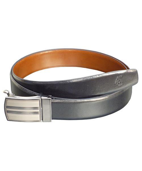 Sondagar Arts Men Formal Black,Brown Genuine Leather Reversible Belt