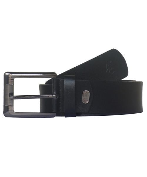 Sondagar Arts Men Casual Black Genuine Leather Belt