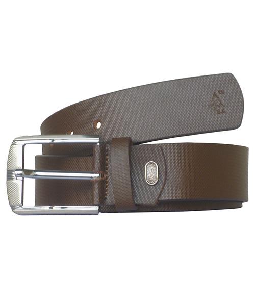 Sondagar Arts Men Casual Brown Genuine Leather Belt