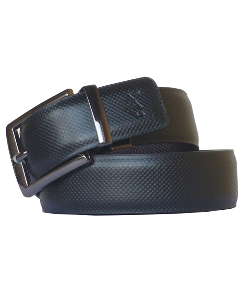Sondagar Arts Men Formal Black, Brown Reversible Belt