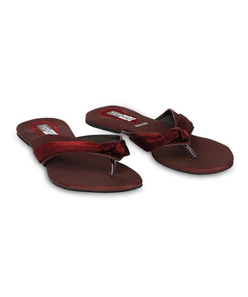 Yepme Maroon Sandals