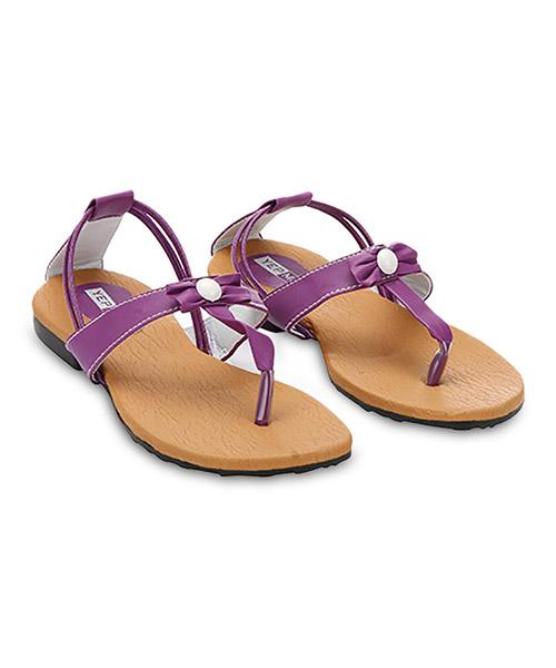 Yepme Crust Sandals - Purple