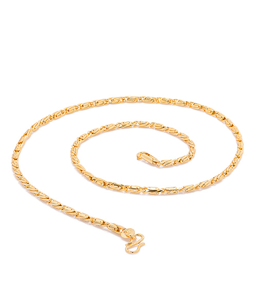 Voylla Bold And Stylish Gold Tone Chain For Men