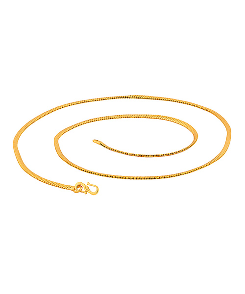 Voylla Classy Gold Plated Mens Chain