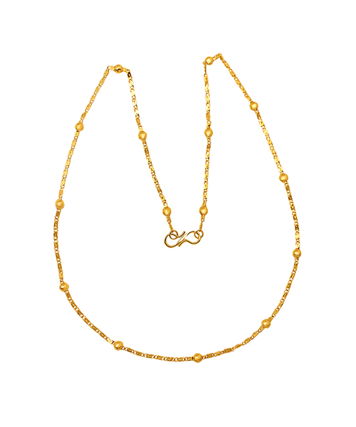 Mahi Exa Collection Gold Plated Saturn Thick Women