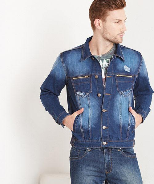 Yepme Daryl Denim Jacket - Blue