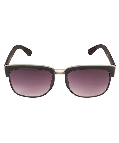 Vespl Dual Shade Wayfarer UV Protected Grey Frame Glass Purple ...