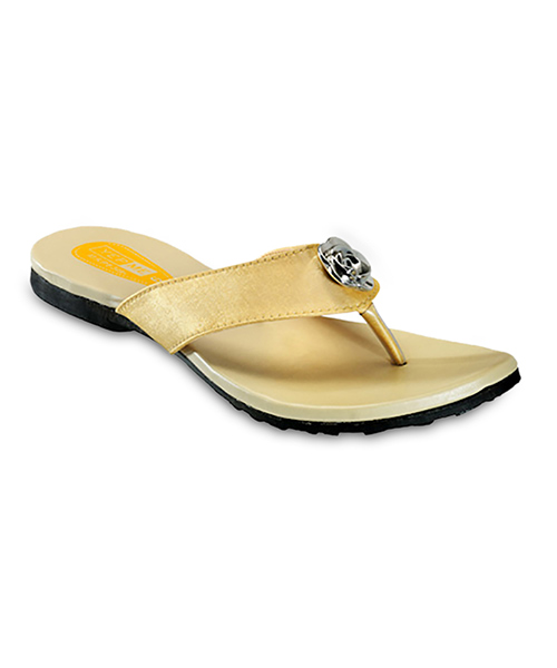 Yepme Golden Sandals